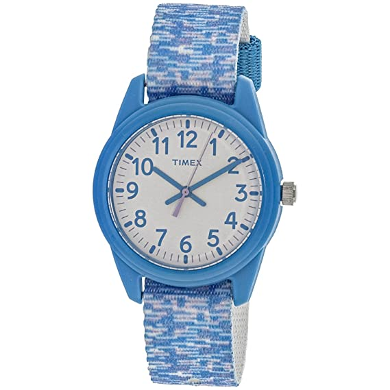 Timex tiempo máquinas tw7 C12100 gamuza de azul cuarzo moda reloj