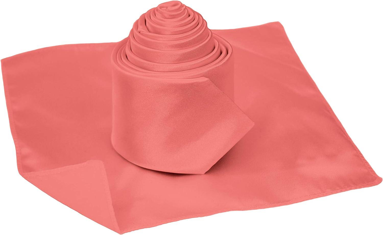 The Gorgeous 1 - Corbata - para hombre rosa coral Talla única ...