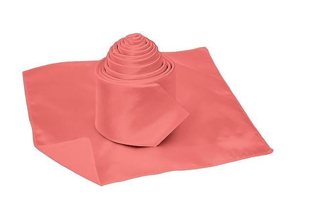 The Gorgeous 1 - Corbata - para hombre rosa coral Talla ...