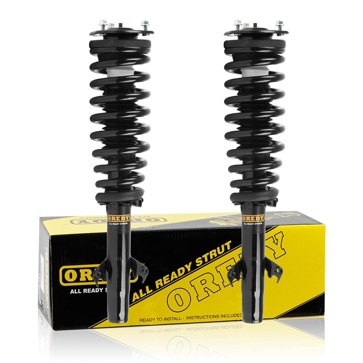 Rear Pair Absorber Shocks /& Struts Fit 2006-2012 Ford Fusion