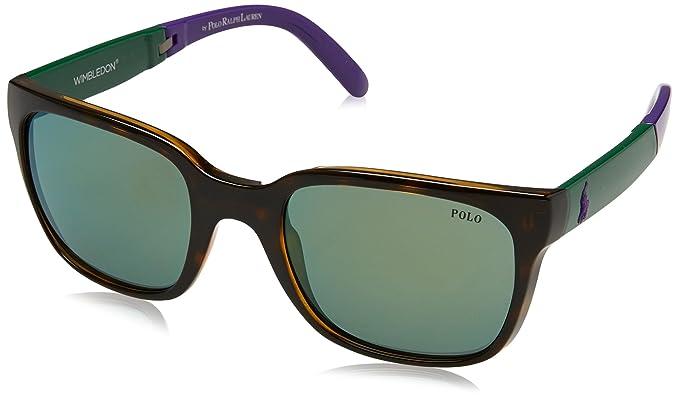 Ralph Lauren POLO 0PH4089 Gafas de sol, Shiny Dark Havana ...