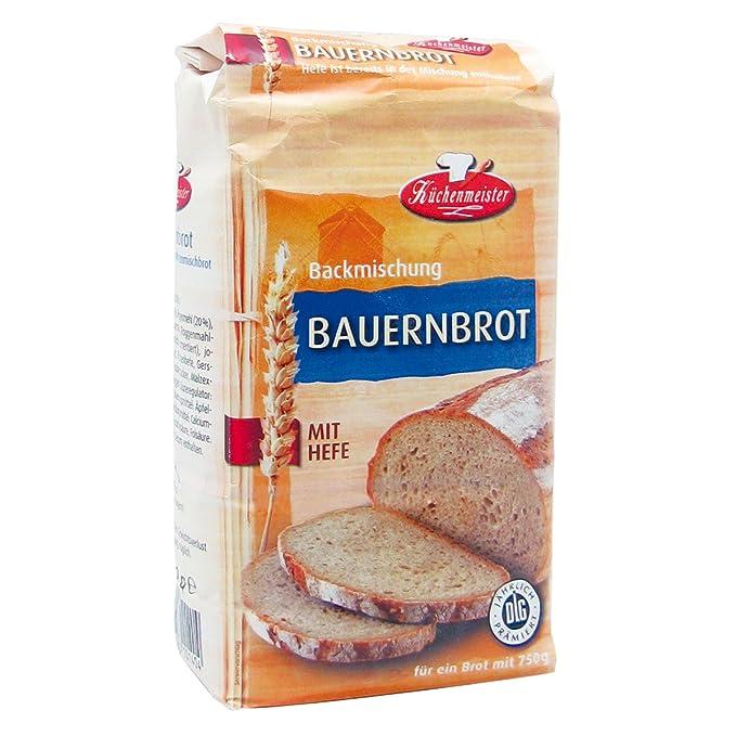 Bielmeier de cocina Meister Panificadora mezcla Granja Roggen Mixta Pan, 15 unidades (15 x