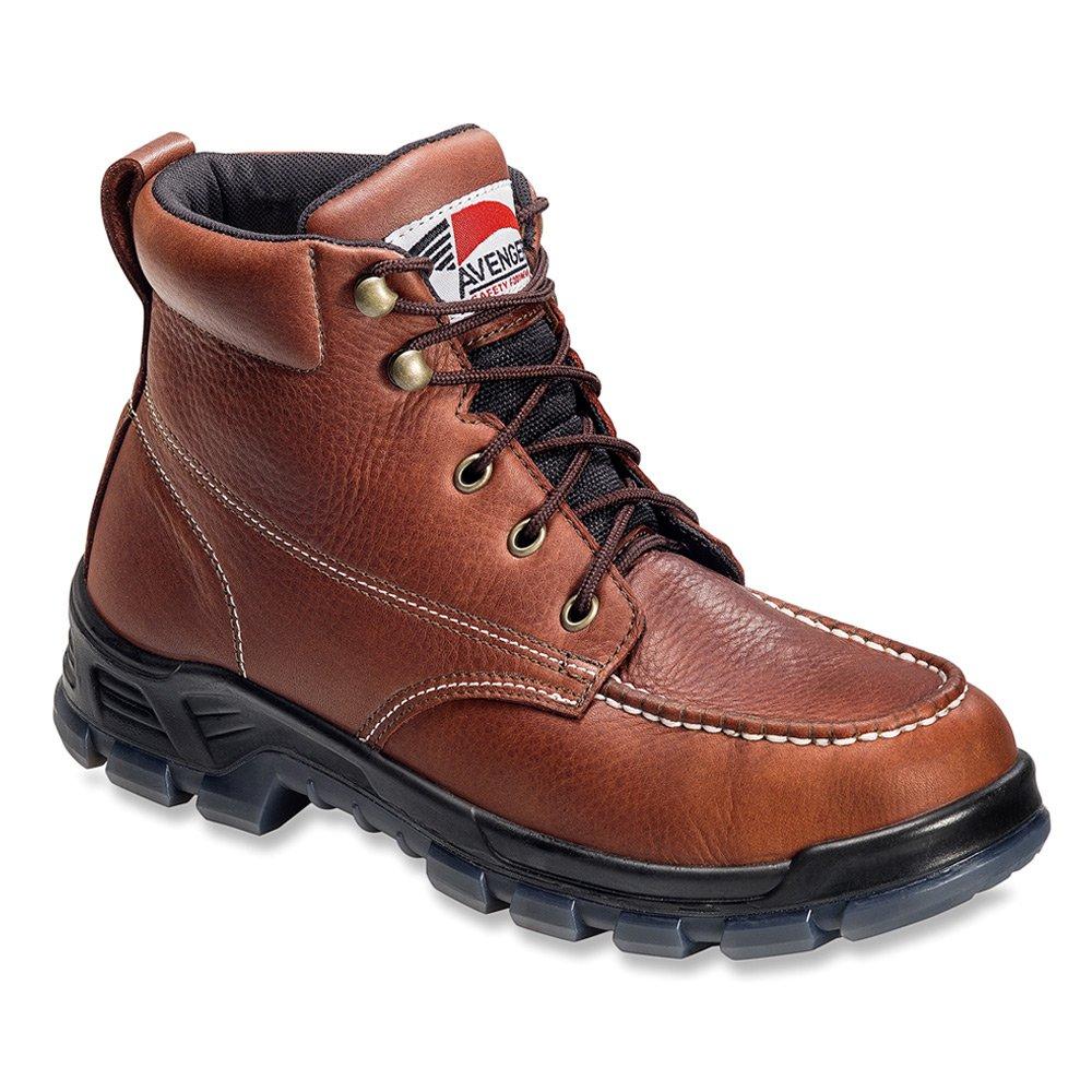 Avengerメンズ防水Moc Toe Work Bootスチール – a7922 ブラウン 12 D(M) US 12 D(M) USブラウン B01BQQ0FOM