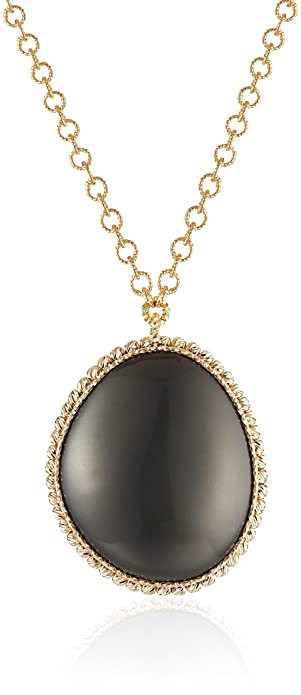 Roberto Coin 18k Two-Tone Pebbles Pendant Necklace