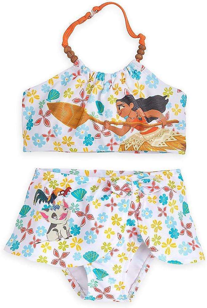 JerrisApparel Girl Moana Swimwear Two-Piece Swimsuit Tankini Bathing Suit