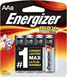 Energizer MAX AA Batteries, Designed to Prevent Damaging Leaks (8-Count)