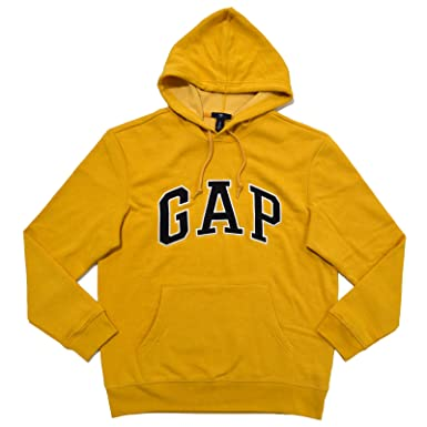 GAP Mens Fleece Arch Logo Pullover Hoodie at Amazon Men's Clothing ...