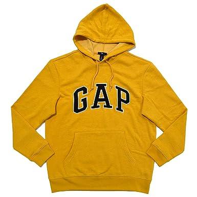 GAP Mens Fleece Arch Logo Pullover Hoodie at Amazon Men's Clothing ...