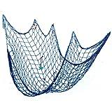 NKTM 漁網 壁掛けの飾り物 地中海風