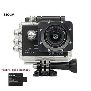 SJCAM SJ5000X Elite WiFi 4K 24fps 2K30fps Gyro Sports DV 2.0 LCD NTK96660 Diving 30m Waterproof Action Camera