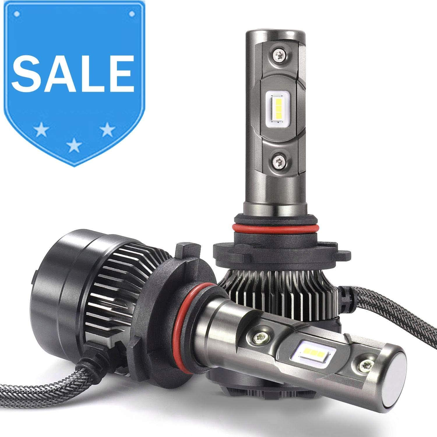 7200LM Fog Light All-in-one Waterproof Conversion Kit 9005 AUTLEAD LED Headlight Bulbs High//Low Beams 6500K Cool White HB3, H10 DOT Approved CSP Chips