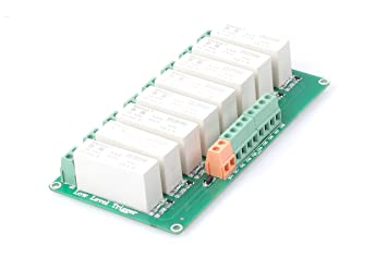 712zfhAfRyL._SX355_ amazon com knacro 8 channel low level trigger solid state relay
