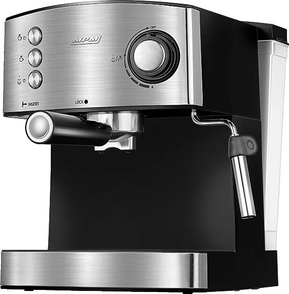 MPM MKW-06M Cafetera Express 20 Bares, para Realizar café Espresso ...