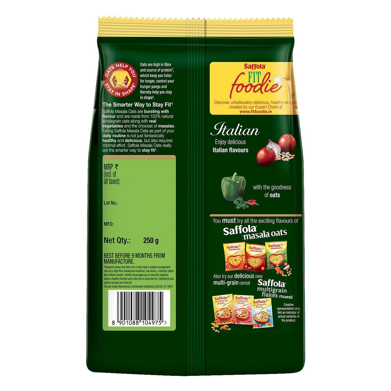 Saffola Masala Oats Italian 250g Amazon Retail Fito Green Ecer