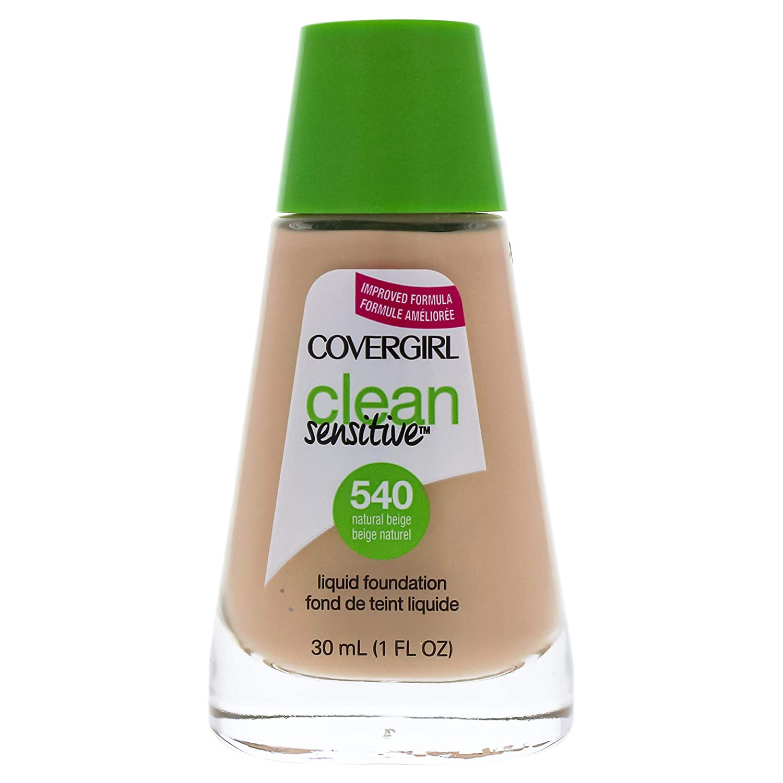 COVERGIRL Clean Sensitive Skin Foundation Natural Beige - 540 (2 Pack)