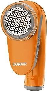 Conair Fabric Defuzzer - Shaver; Battery Operated; Orange