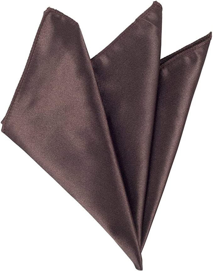 Mens Shiny Check Wedding Party Pocket Square Handkerchief Hanky