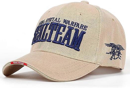 Baseball Cap Navy Seal Team Tactical Men/'s Army Adjustable Bone Snap-back Hat
