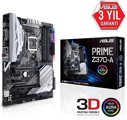 ASUS Prime Z370-A - Placa Base para Gaming (7 x PCIe 3.0, 6 x SATA ...