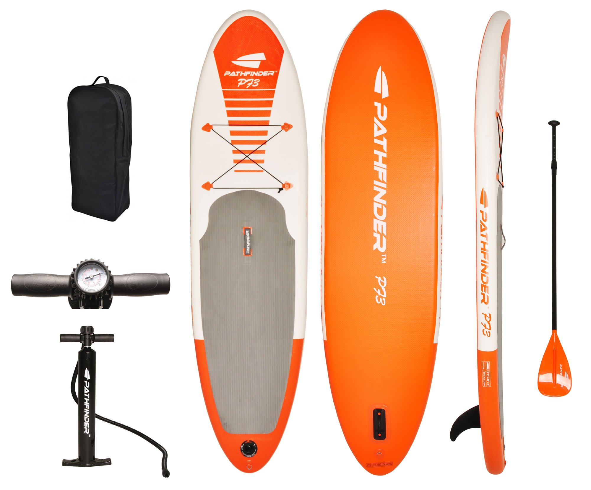 Pathfinder Inflatable SUP Stand Up Paddleboard 9' 9'' (5'' Thick)