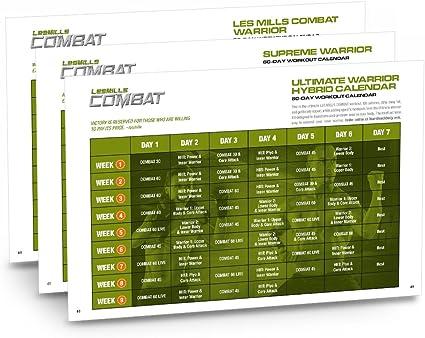 Les Mills Combat DVD Workout: Amazon.es: Deportes y aire libre