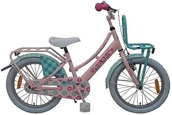 Ibiza Bicicleta Niña 18 Pulgadas Freno Delantero al Manillar y ...