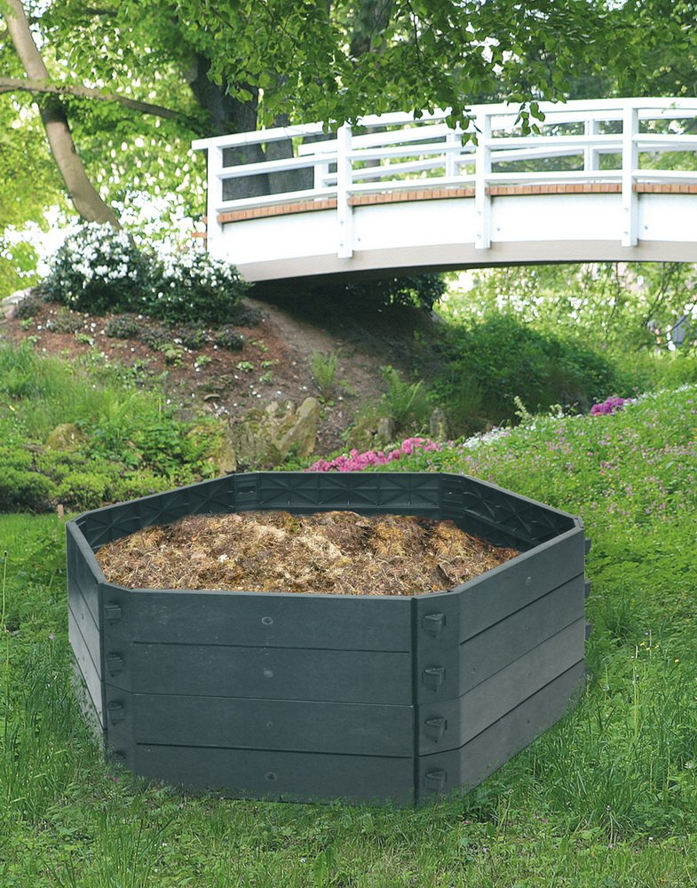 Komposter Teich Sandkasten Beet, 550 Liter