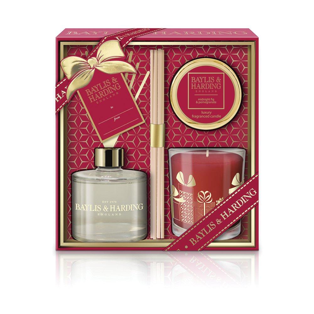Baylis & Harding Sweet Mandarin and Grapefruit Festive Home Fragrance Ultimate Gift Set BM18MGHFSET
