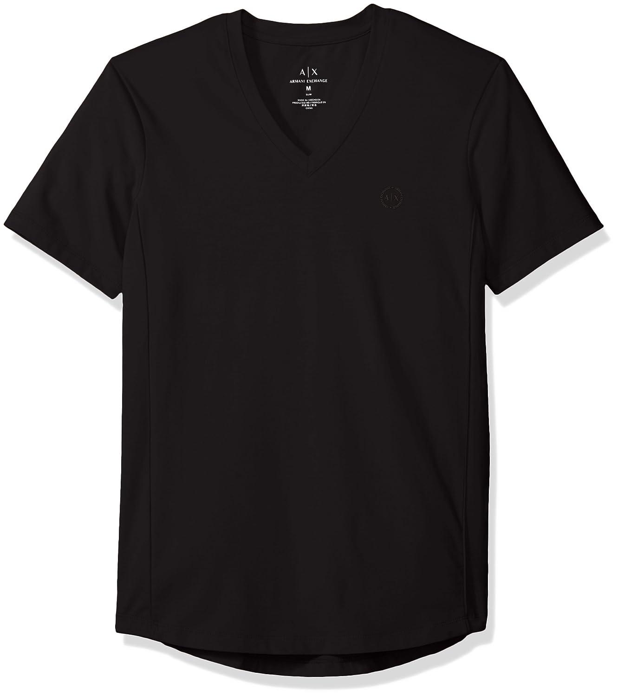 (AX アルマーニ エクスチェンジ) AX ARMANI EXCHANGE T-SHIRT Tシャツ B01MY4QF2Q  ブラック 日本 L-(日本サイズL相当)