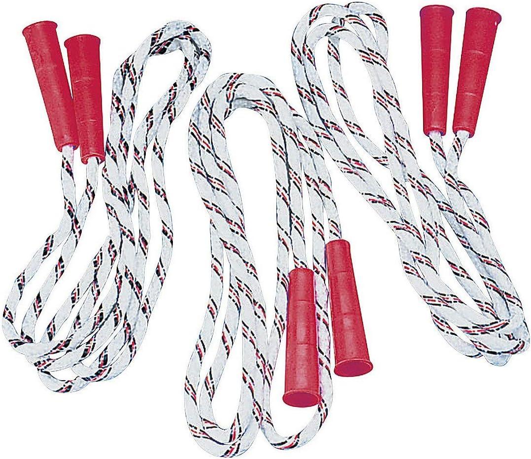 Nylon Jump Ropes (7-FT) - Toys - 12 Pieces