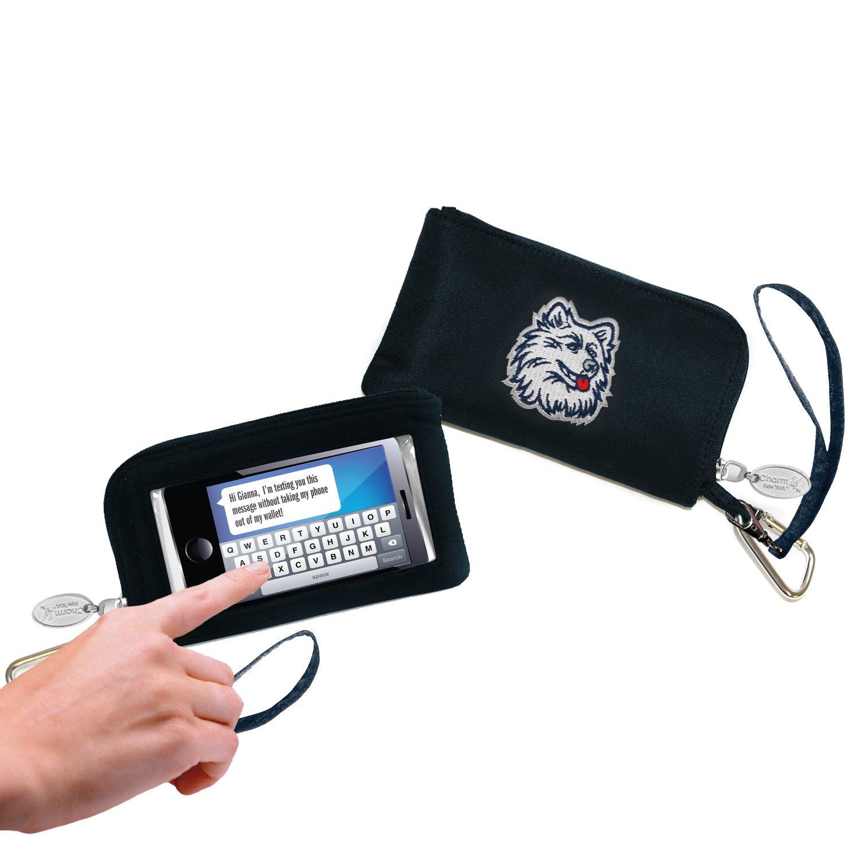 NCAA Connecticut Huskies Cell Phone Wallet