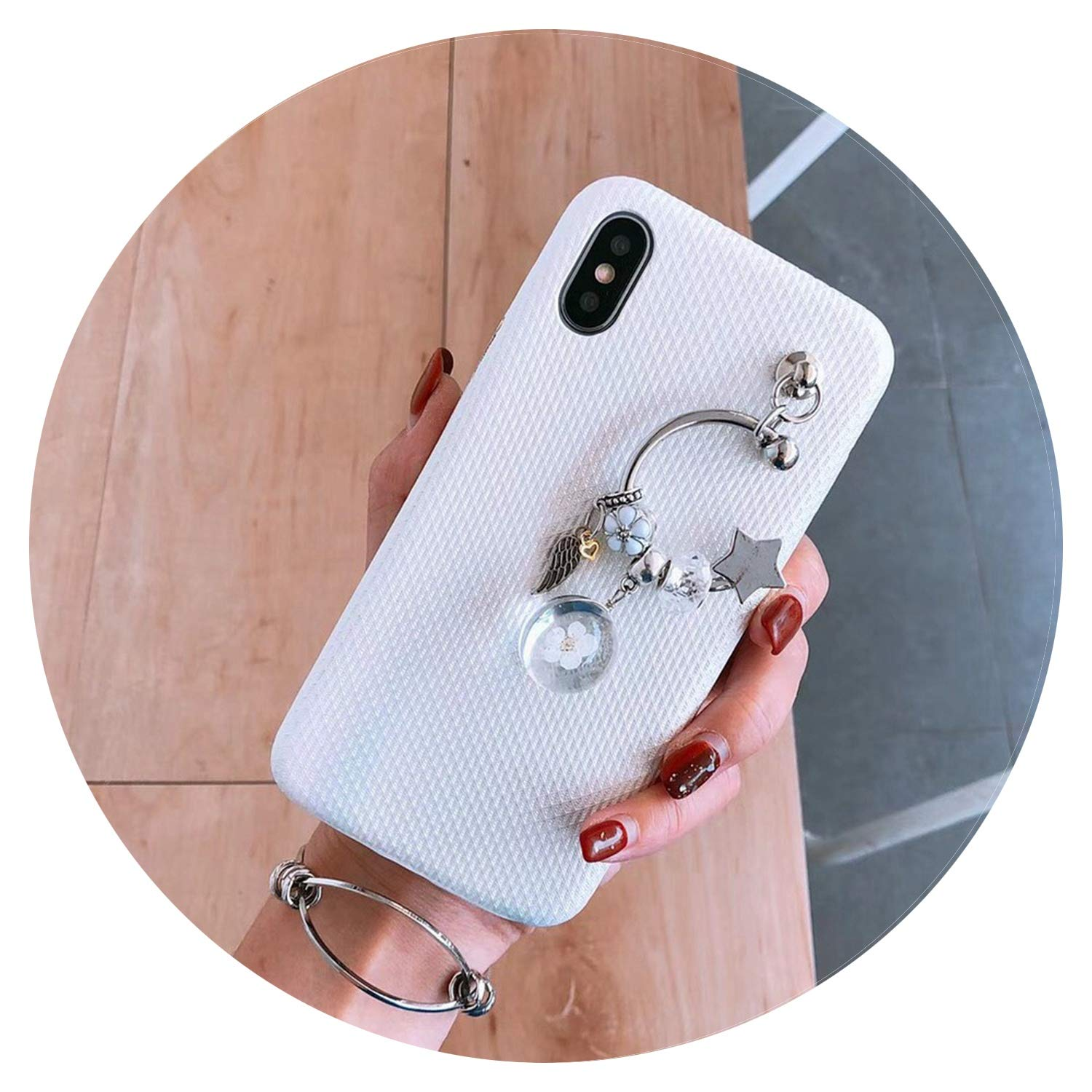 Amazon.com: Moon - Carcasa para iPhone X 8 7 6 6S Plus ...