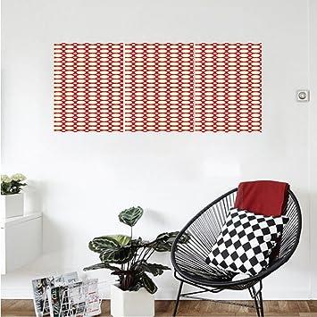 Amazon.com: Liguo88 Custom canvas Retro Big and Small Polka Dots ...