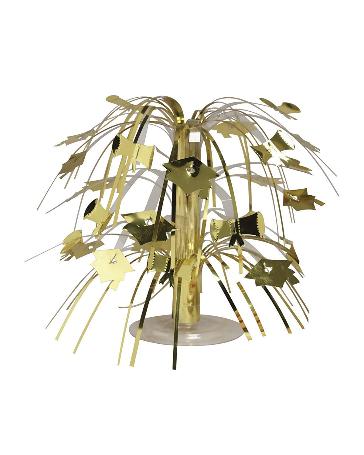 Creative Converting Cascade Graduation Centerpiece, Mini, Gold 263011