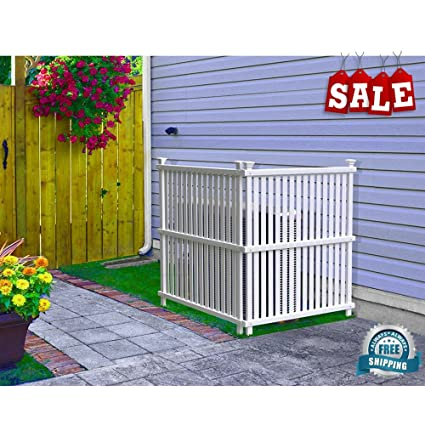 Merveilleux Outdoor Privacy Screen Concealer 2 Panels Patio Garden Screen Panel  All Weather Space Divider Privacy