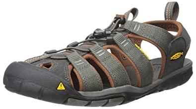 c4fa379ace8e1 KEEN Men's Clear Water CNX - M Sandal,Raven/Tortoise Shell,7 M