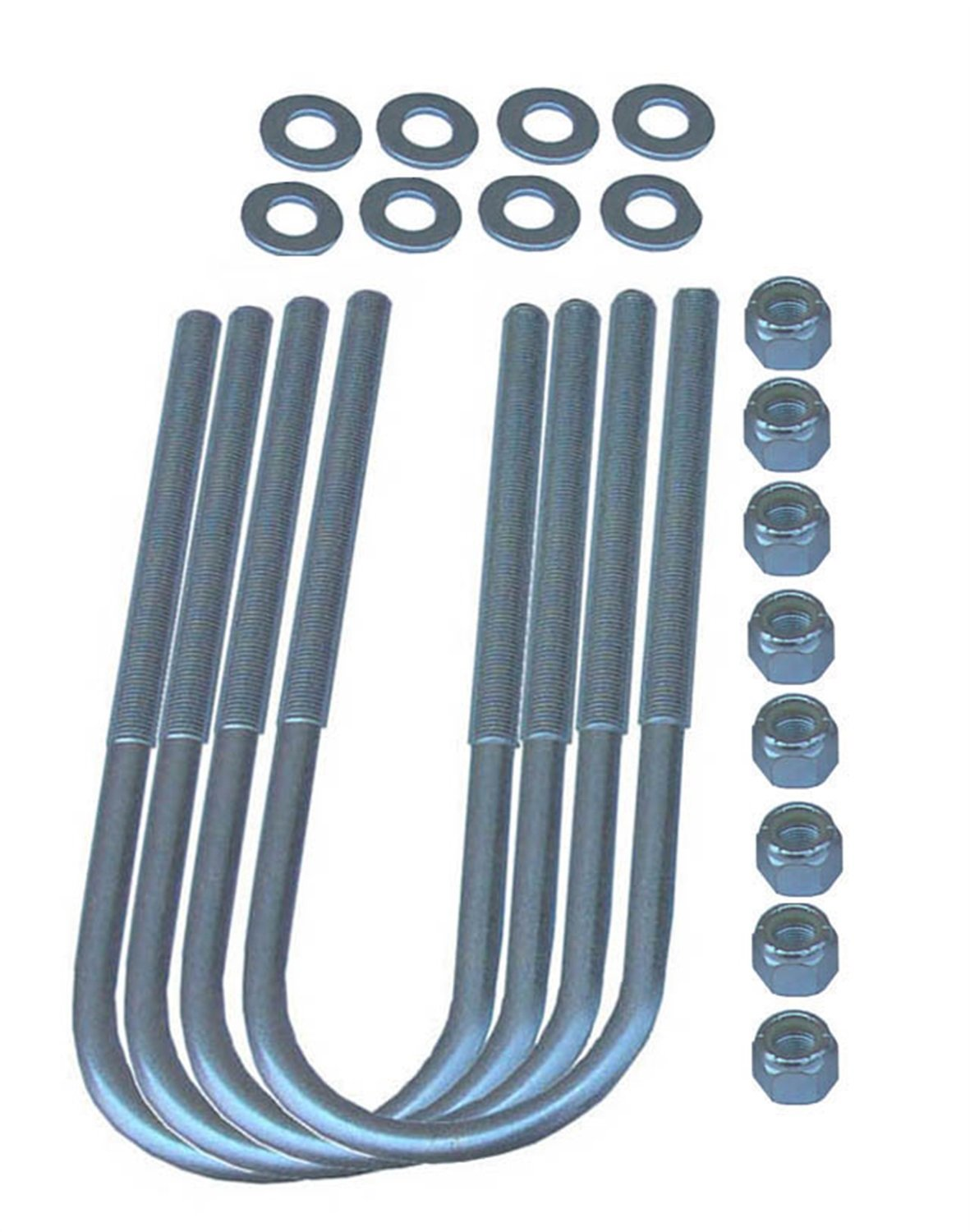 Rubicon Express RE2435 Front U-Bolt Kit for Jeep CJ