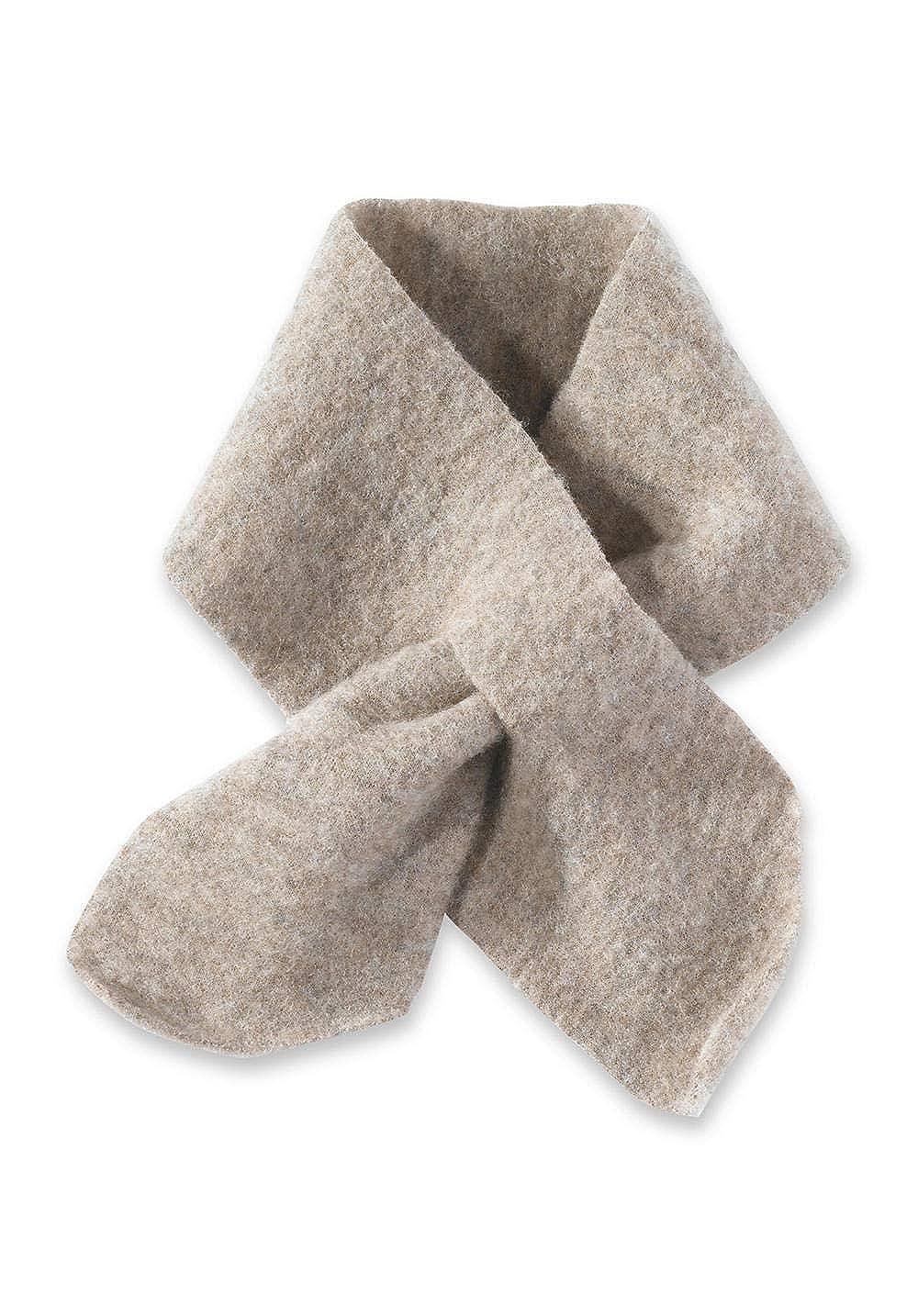hessnatur Baby Mädchen und Jungen unisex Wollfleece Schal