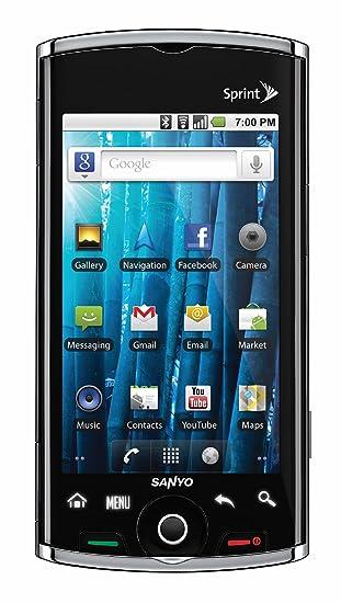 amazon com sanyo zio scp 8600 sprint cdma phone with 3g android rh amazon com Sanyo Xacti Manual PDF eTrex User Manual