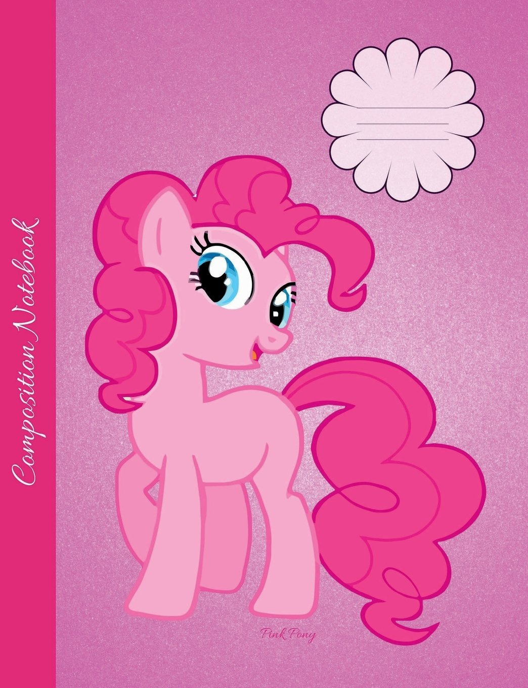 Download Pink Pony Composition Notebook: Wide Ruled lined Pages Book to write in for school, take notes, for girls and women, cute Cartoon Style Horse Cover pdf epub