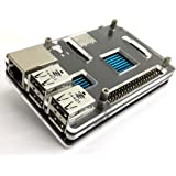 IVSO Protective Case for Raspberry Pi 2 Model B + Set of 3x Heatsinks (2x Copper / 1x Aluminium), Raspberry Pi 2 Model B NOT Included