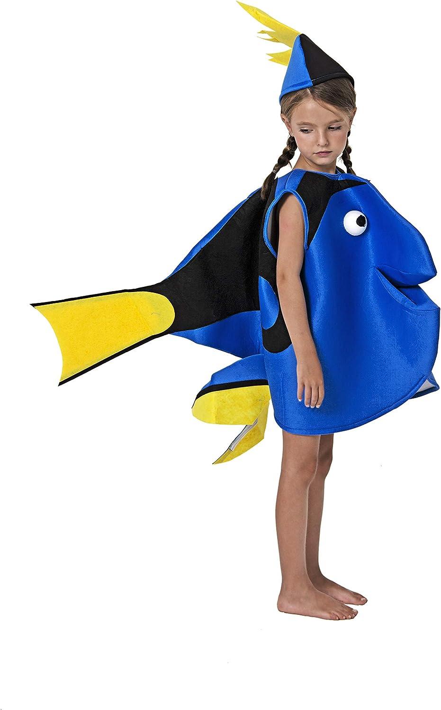 Costumizate! Disfraz de Pez Naranja Talla 3-4 Especial para niños ...