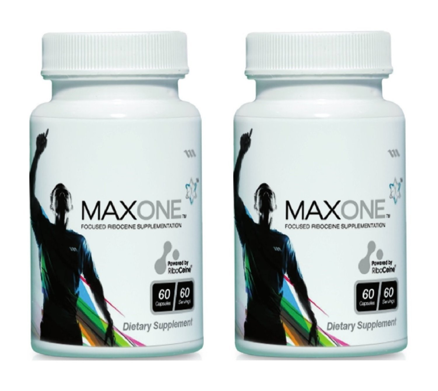 Max One, Focused Riboceine Supplementation, 60 Vegetable Capsules, 30 Servings (Pack of 2)