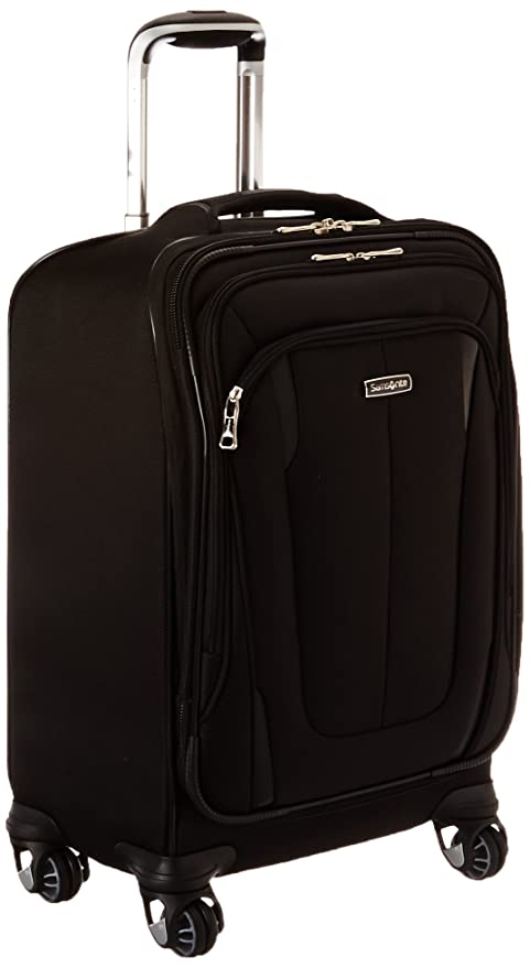 Amazon.com | Samsonite Silhouette Sphere 2 Softside 21 Inch Spinner, Black,  One Size | Carry-Ons
