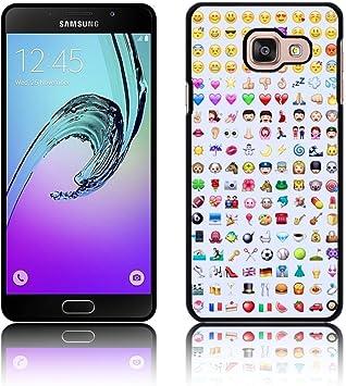 Coque rétro 'Smiley Emojis' pour Samsung GALAXY A3 (2016) A310 en ...