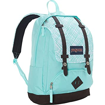 Amazon.com: JanSport Cortlandt Backpack- Sale Colors (Aqua Dash ...