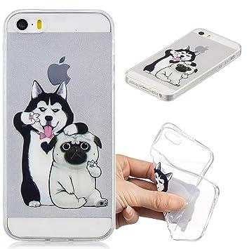 coque iphone 5 chien silicone