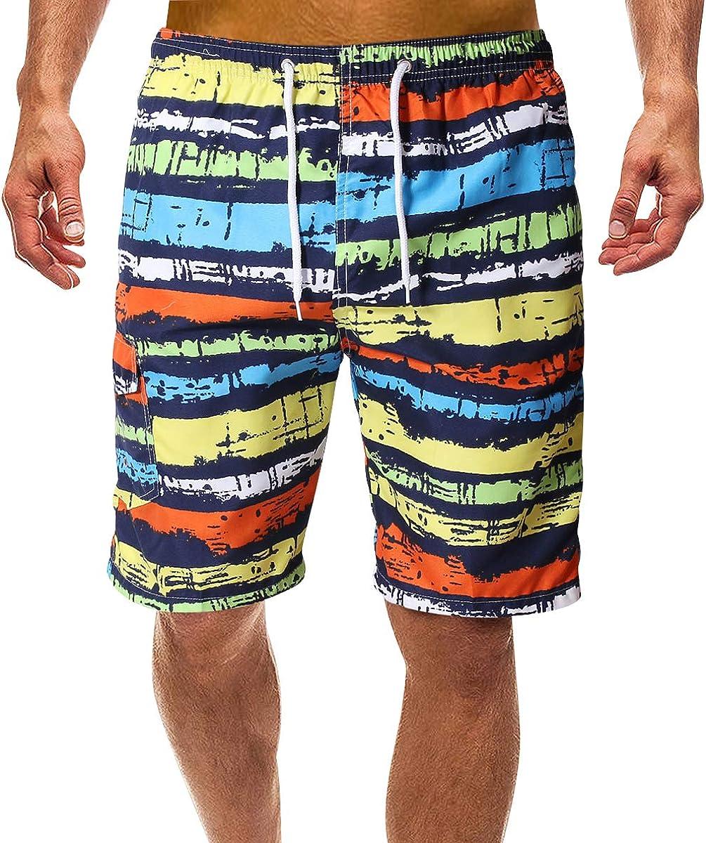 Bañadores Estampados Hombre Bañador Natacion Hombre Cortos Largo Traje Trajes de Baño para Hombres Bañador Piscina Surf Playa Caballero Deportivo Pantalonetas Short de Baño Corto Tallas Grandes