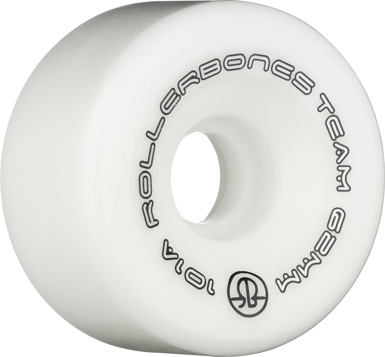RollerBones Team Logo 101A Recreational Roller Skate Wheels Set of 8