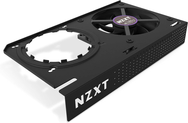 NZXT KRAKEN G12 - Kit de montaje de GPU para refrigeradores líquidos todo en uno de la serie Kraken X - Compatibilidad con GPU AMD y NVIDIA - Refrigeración activa para VRM - Negro